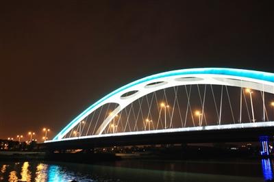 上海浦东轮廓矢量图