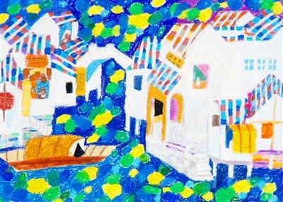 浦东新区中小幼绘画大赛优秀作品展示 六 -童画中国梦