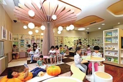 新区率先推广幼儿阅读室标准化建设