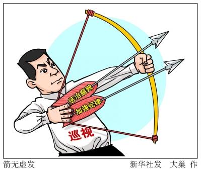 党的十八大以来,巡视这一监督利剑已经斩获了有目共睹的反腐战果,一大
